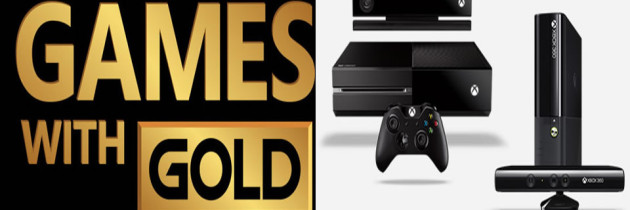 Xbox Games With Gold For August 2018