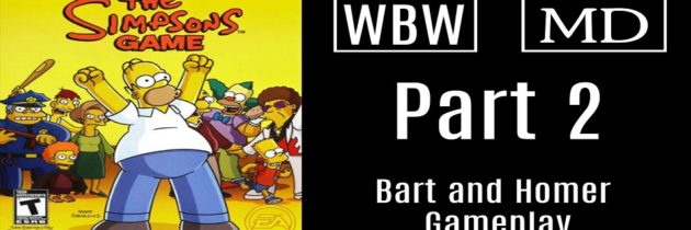 Doing The Bartman – The Simpsons Game – Part 2