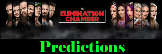 WWE Elimination Chamber Predictions