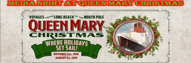 Media Night At The Queen Mary Christmas