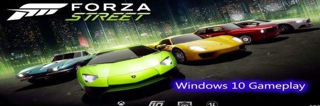 Forza Street – Windows 10 Gameplay